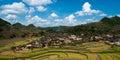 Yunnan china a beautiful village in province Stock Photos