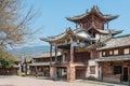 YUNNAN, CHINA - MAR 20 2015: Shaxi Ancient village. a famous Anc Royalty Free Stock Photo