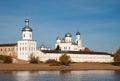 Yuriev monastery, Novgorod Veliky, Russia Royalty Free Stock Photo