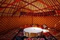 Yurt Interiors Royalty Free Stock Photo
