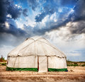 Yurt  nomadic house Royalty Free Stock Images