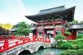 Yutoku Inari Shrine is a Shinto shrine Royalty Free Stock Photo