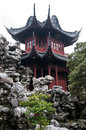 Yuyuan garden one of the pavilions in in shanghai china Stock Photos