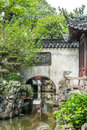 Yuyuan garden shanghai china detail of the historic created in the year by pan yunduan in Stock Photos