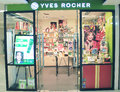 Yves rocher shop in hong kong located metroplaza is a skin care products retailer Royalty Free Stock Image