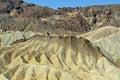 Zabriske Point, Death Valley, California, USA Royalty Free Stock Photo