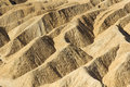 Zabriskie Point at Death Valley Royalty Free Stock Image