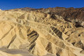 Zabriskie Point at Death Valley Royalty Free Stock Photography