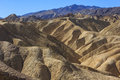 Zabriskie Point at Death Valley Royalty Free Stock Images