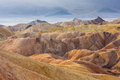 Zabriskie Point, Death Valley National Park, California Stock Photos