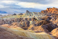 Zabriskie Point, Death Valley National Park, California Royalty Free Stock Image