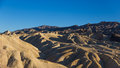 Zabriskie point in death valley national park usa Stock Photo