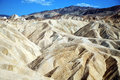 Zabriskie point death valley national park usa california Stock Image