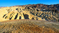 Zabriskie Point in Death Valley, Nevada Royalty Free Stock Photo