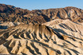 Zabriskie Point landscape Royalty Free Stock Photography