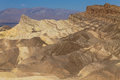 Zabriskie point a view from death valley national park usa Stock Photography
