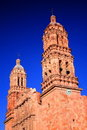 Zacatecas cathedral Royalty Free Stock Photo