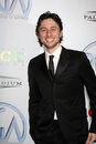 Zach braff arriving producer s guild awards palladium los angeles ca january Stock Image