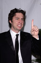 Zach braff feb los angeles ca actor at the writers guild awards in hollywood Royalty Free Stock Photo