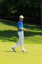 Zach johnson at the memorial tournament in dublin ohio usa Royalty Free Stock Photos