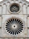 Zadar in Dalmatia. Cathedral of Saint Anastasia. Royalty Free Stock Photo