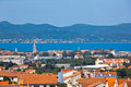 Zadar panorama Royalty Free Stock Photo