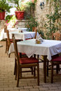 Zadar restaurant Royalty Free Stock Photo