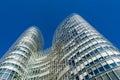 ZAGREB, CROATIA - DECEMBER 2015: Sky Tower office building in Zagreb Royalty Free Stock Photo
