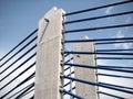 Zagreb: modern bridge Royalty Free Stock Images