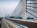 Zagreb: new highway bridge Royalty Free Stock Images