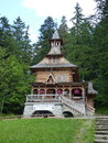 Zakopane poland a beautiful view of the jaszczurowka chapel Royalty Free Stock Images