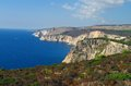 Zakynthos coast a in greece Stock Photo
