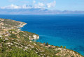 Zakynthos view on the coast of ionian islands greece Stock Photo