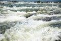 Zambezi rapids mighty waters of the river zambia africa Stock Photos
