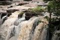 Zambezi river at Victoria Falls(Zambia) Stock Image