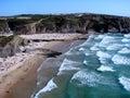 Zambujeira do mar, Portugal Royalty Free Stock Image