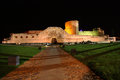 Zamora castle a view of the at night Stock Photos