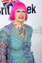 Zandra Rhodes Royalty Free Stock Photo