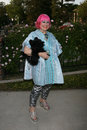 Zandra rhodes britweek british counsul general s residence los angeles ca april Stock Photos