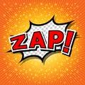 Zap! Royalty Free Stock Photo
