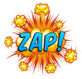 Zap Royalty Free Stock Photo