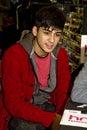 Zayn Malik von der britischen Band eins Richtung Lizenzfreie Stockbilder