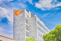 Zdf unterföhring television building in Royalty Free Stock Photo