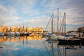 Zea marina in piraeus athens boats Royalty Free Stock Photography