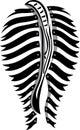 Zebra ass Royalty Free Stock Photo