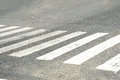 Zebra cross Royalty Free Stock Image