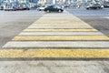 Zebra Of Pedestrian Crosswalk ...
