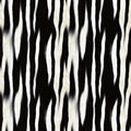 Zebra Skin Pattern Stock Photos
