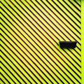 Zebra-striped wall Royalty Free Stock Photo
