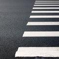Zebra traffic walk way Stock Photography